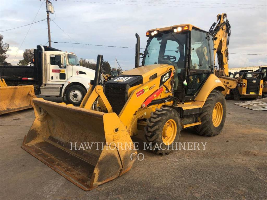 Caterpillar 430FCAB TH, backhoe loader, Construction