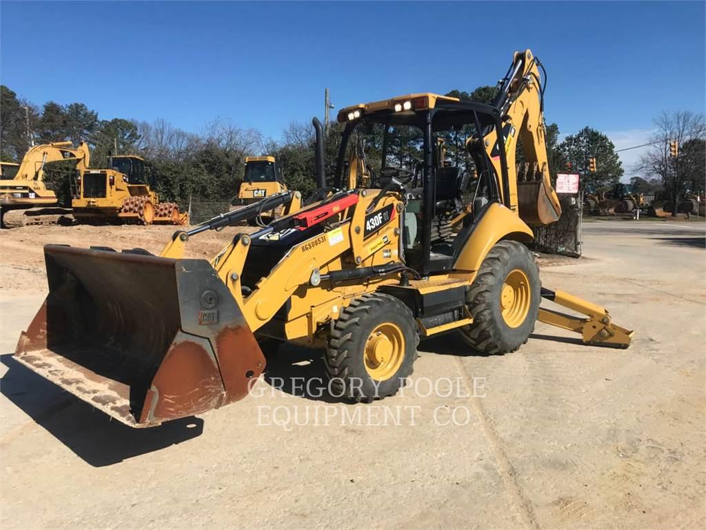 Caterpillar 430FIT, backhoe loader, Construction
