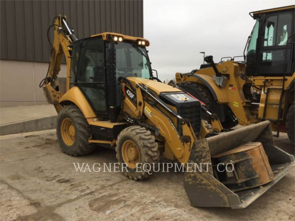 Caterpillar 430FIT, backhoe loader, Construction
