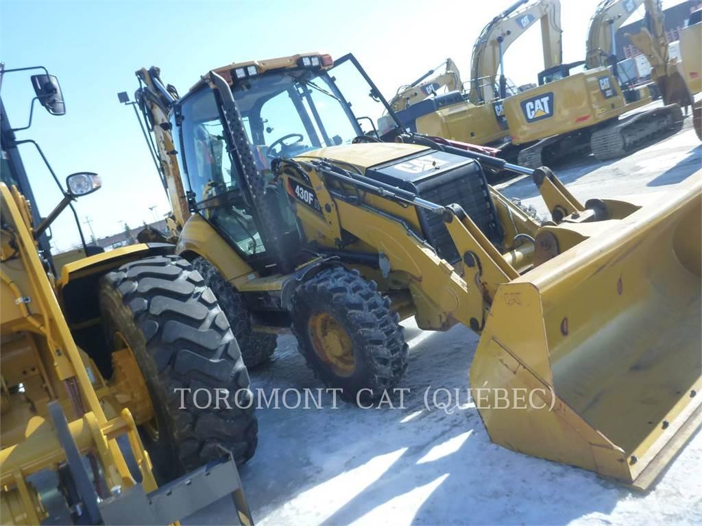 Caterpillar 430FIT, retroescavadeiras, Equipamentos Construção