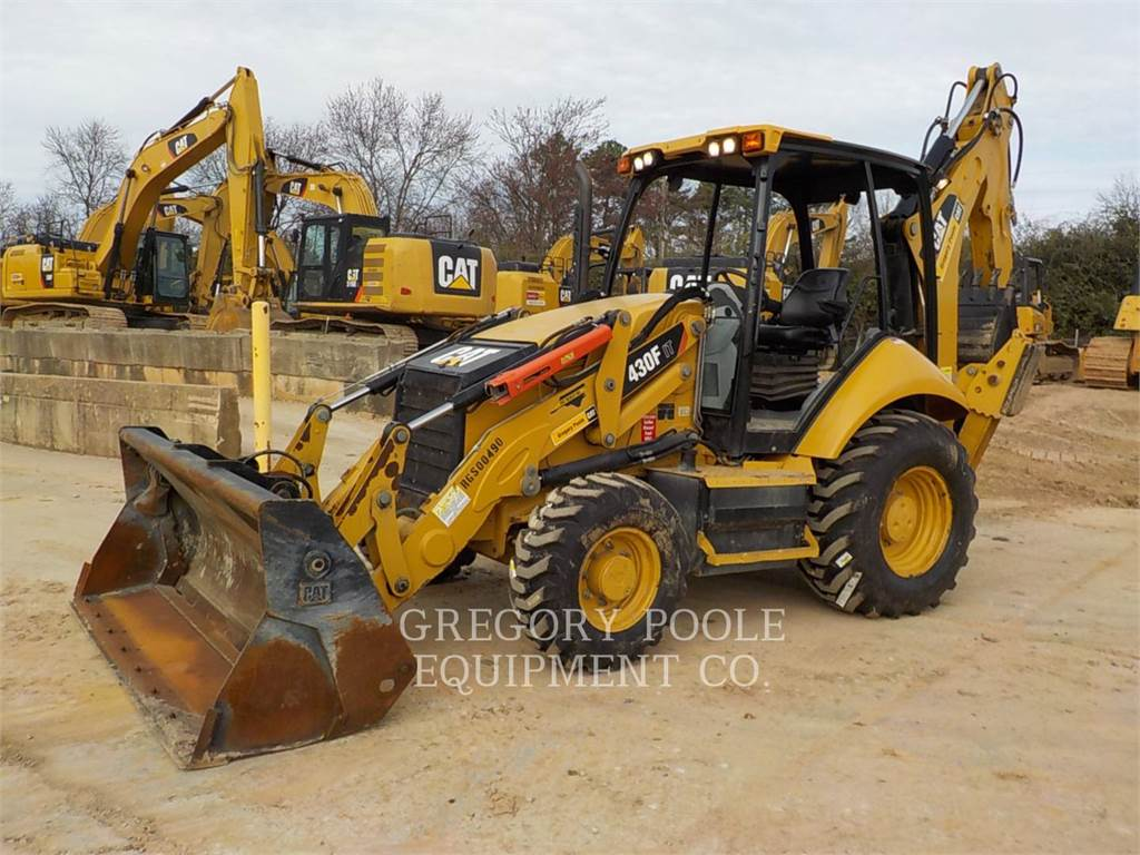 Caterpillar 430FIT, retroexcavadoras cargadoras, Construcción