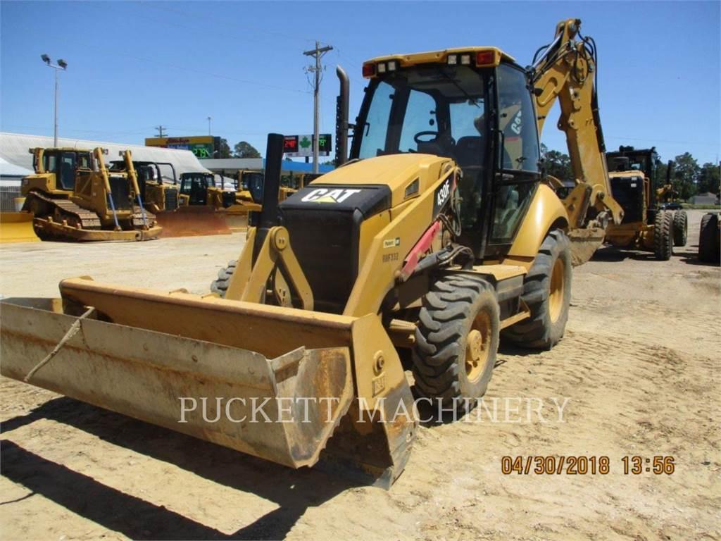 Caterpillar 430FST, chargeuses-pelleteuses, Équipement De Construction