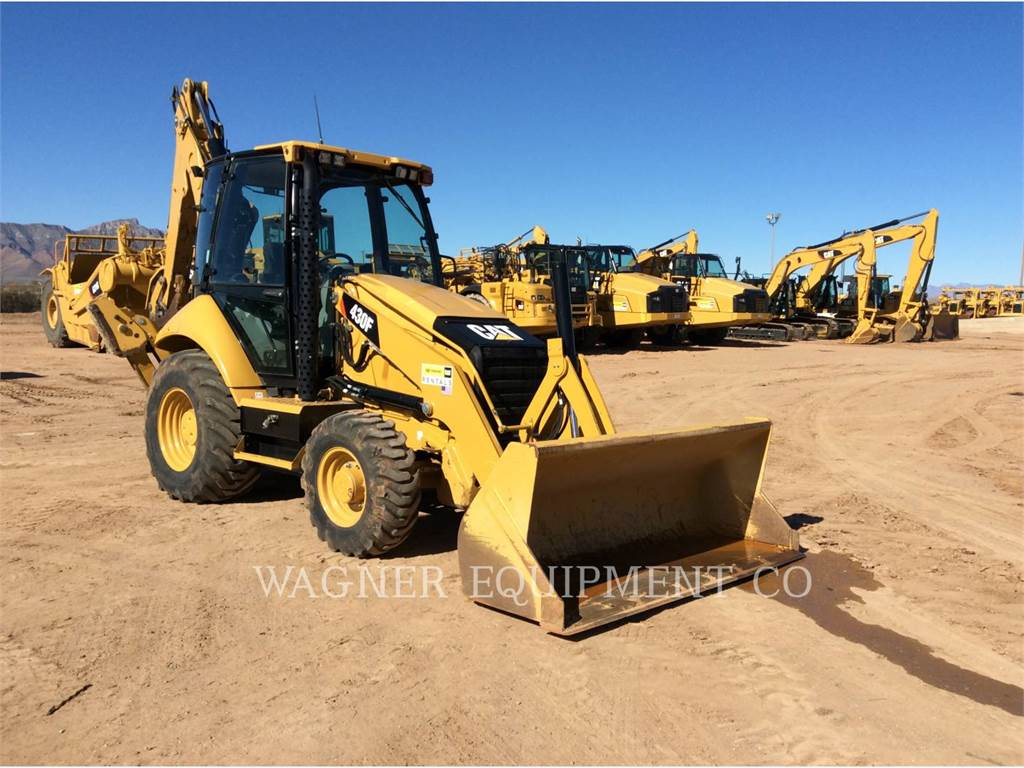 Caterpillar 430FST, backhoe loader, Construction