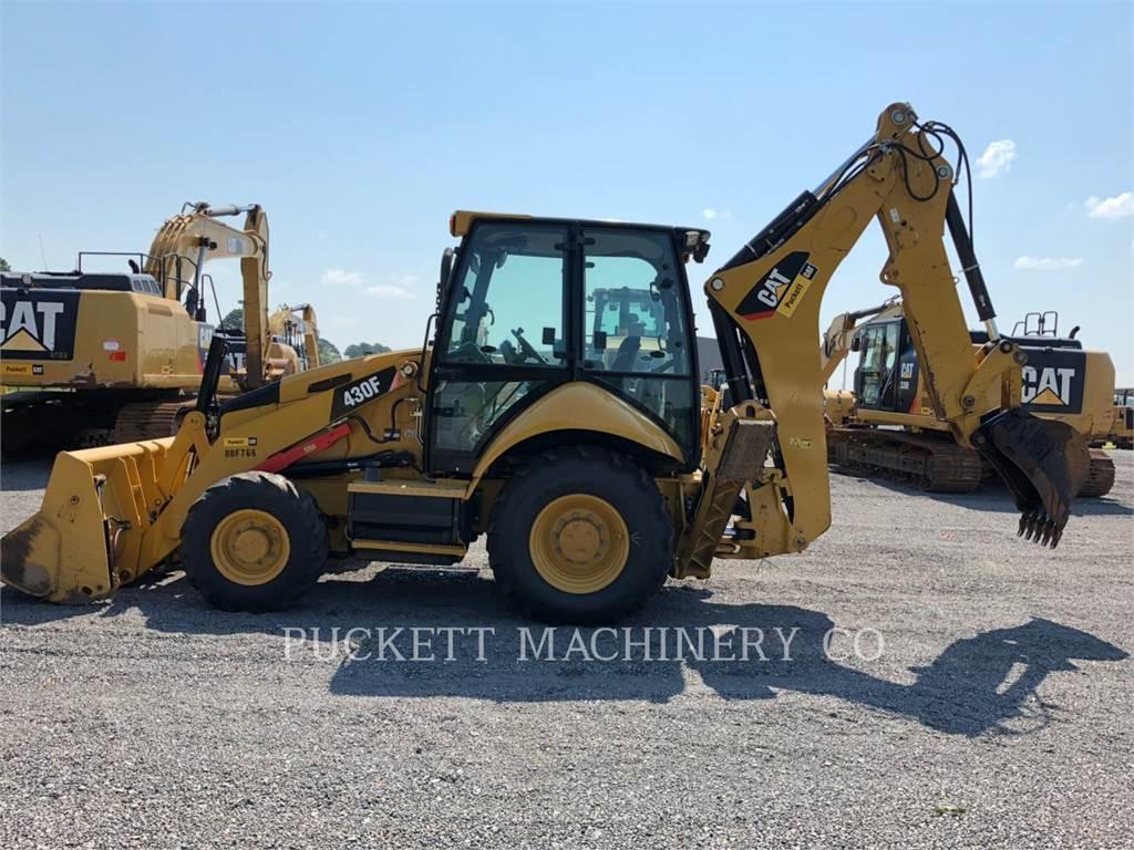 Caterpillar 430FST、反铲装载机、建筑设备