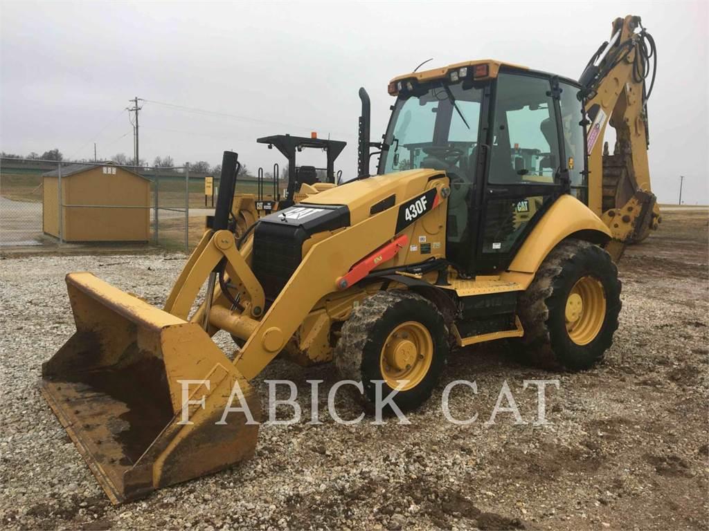 Caterpillar 430FST, retroexcavadoras cargadoras, Construcción