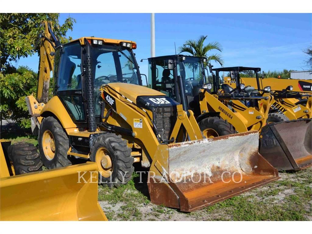 Caterpillar 430FST、バックホーローダ、建設
