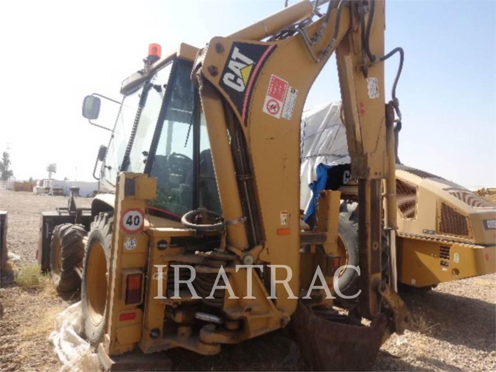 Caterpillar 432 D POWERSHIFT, backhoe loader, Construction