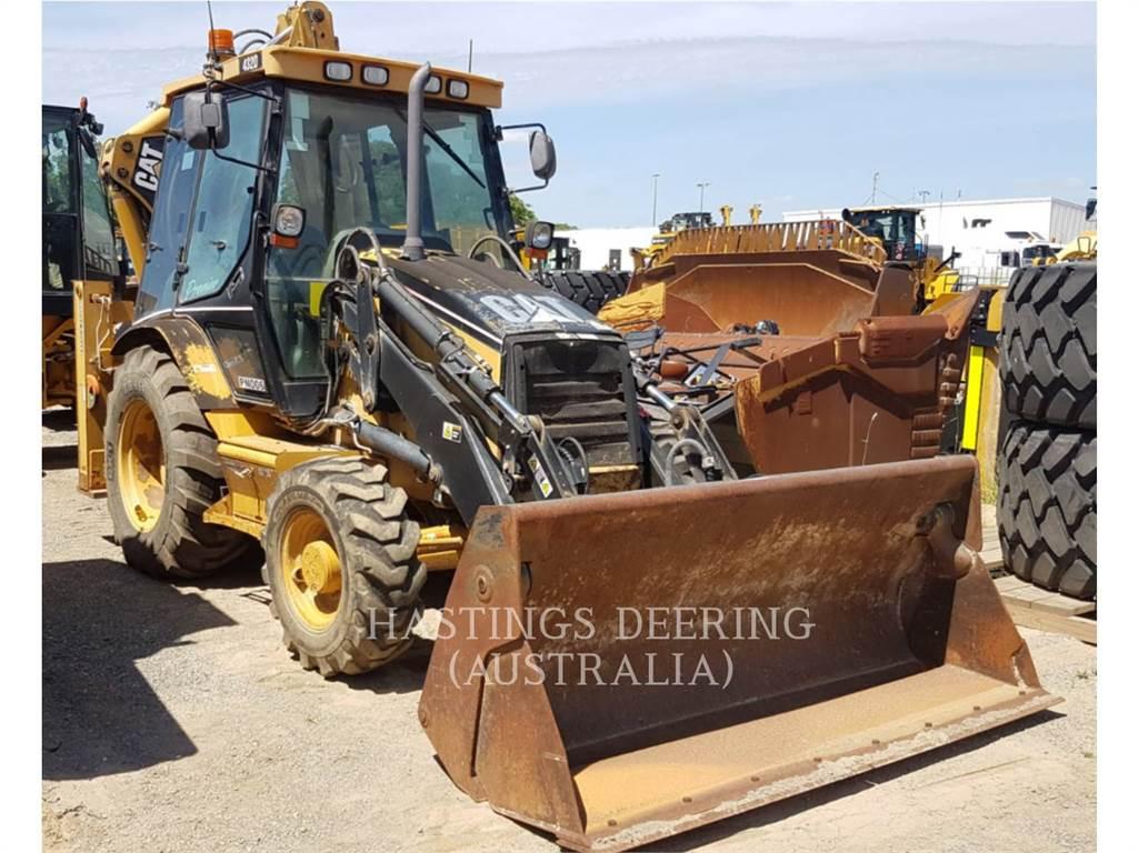 Caterpillar 432D, backhoe loader, Construction
