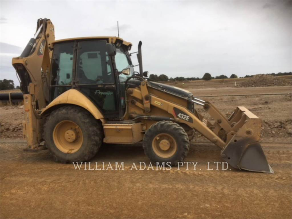 Caterpillar 432E2, backhoe loader, Construction