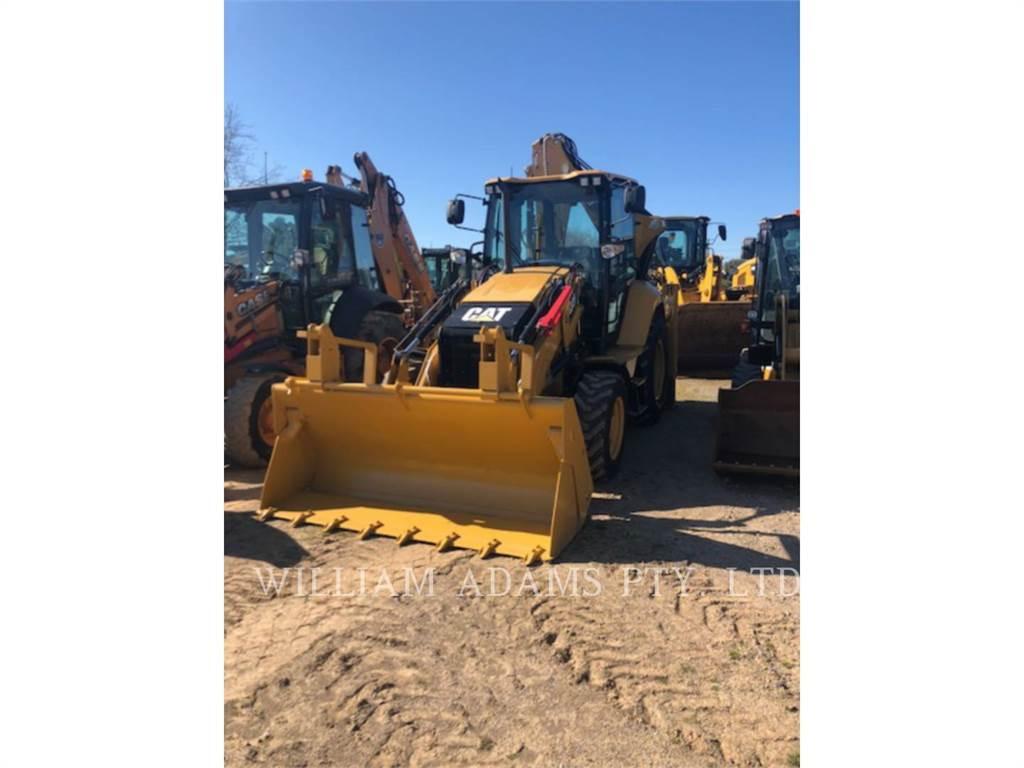 Caterpillar 432F2, backhoe loader, Construction