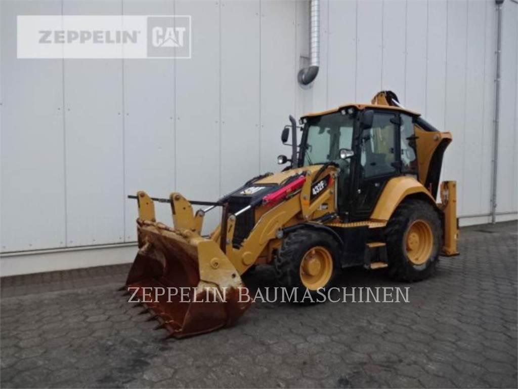 Caterpillar 432F2LRC, chargeuses-pelleteuses, Équipement De Construction