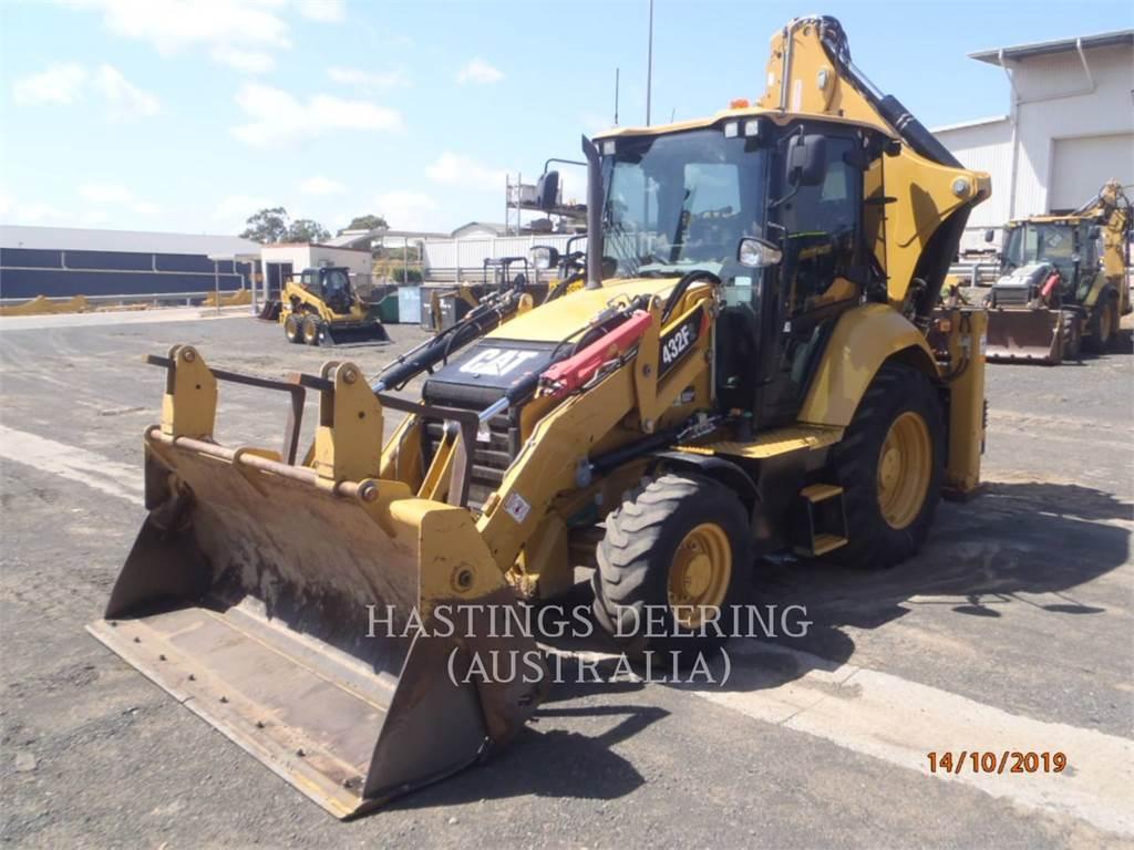 Caterpillar 432F2LRC, backhoe loader, Construction
