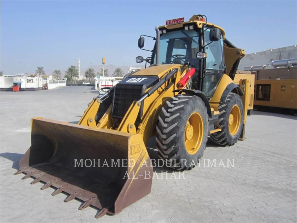 Caterpillar 434 F, backhoe loader, Construction