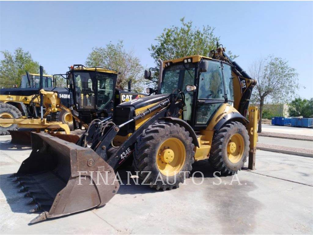 Caterpillar 434EX, backhoe loader, Construction