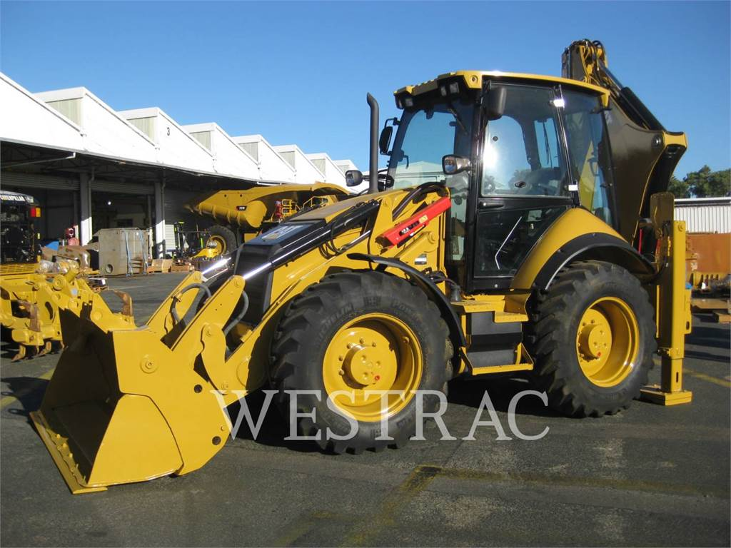Caterpillar 434F, baggerlader, Bau-Und Bergbauausrüstung