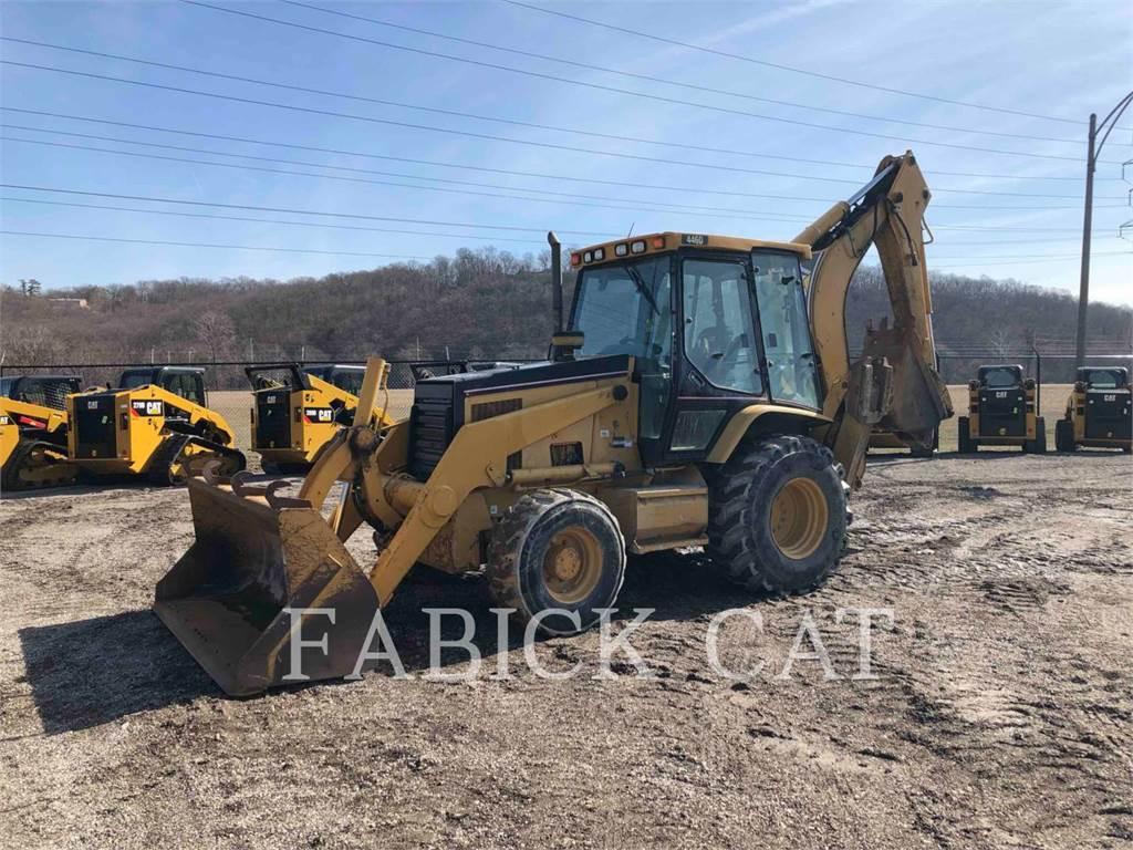 Caterpillar 446D, backhoe loader, Construction