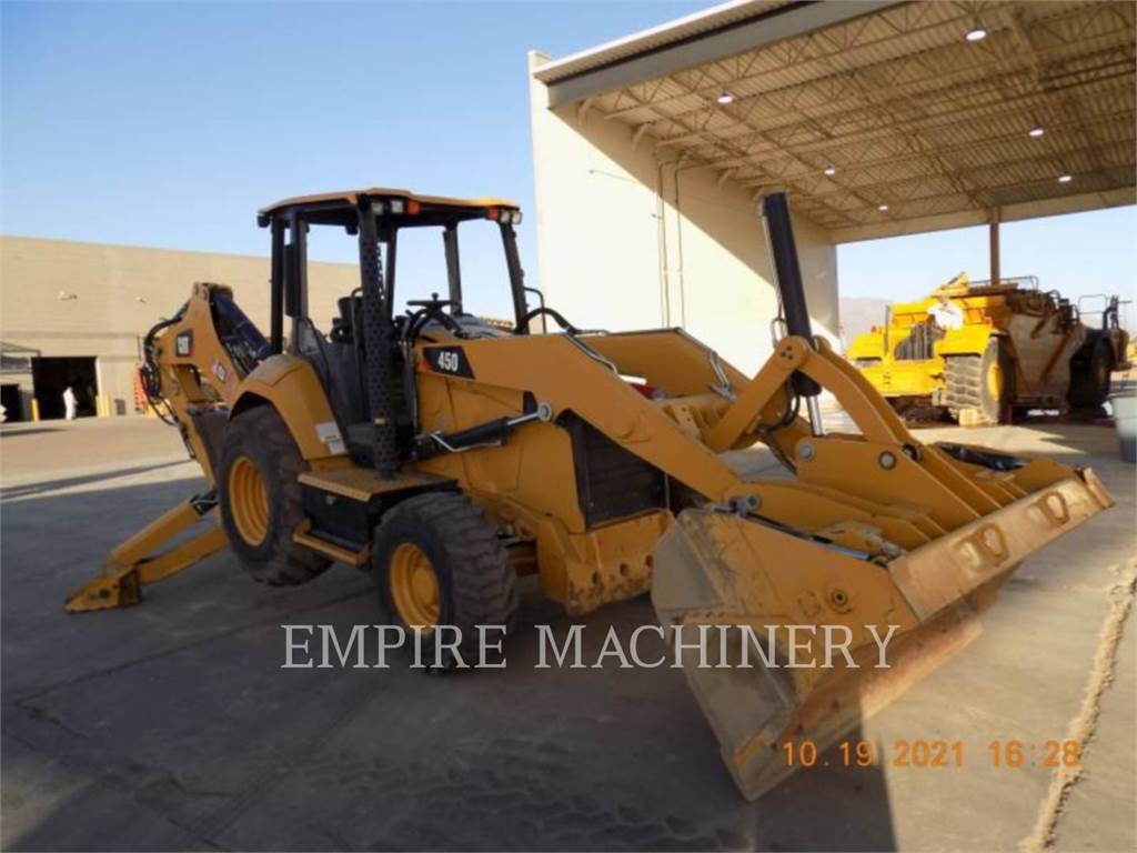 Caterpillar 450-074EOP, buldoexcavatoare, Constructii