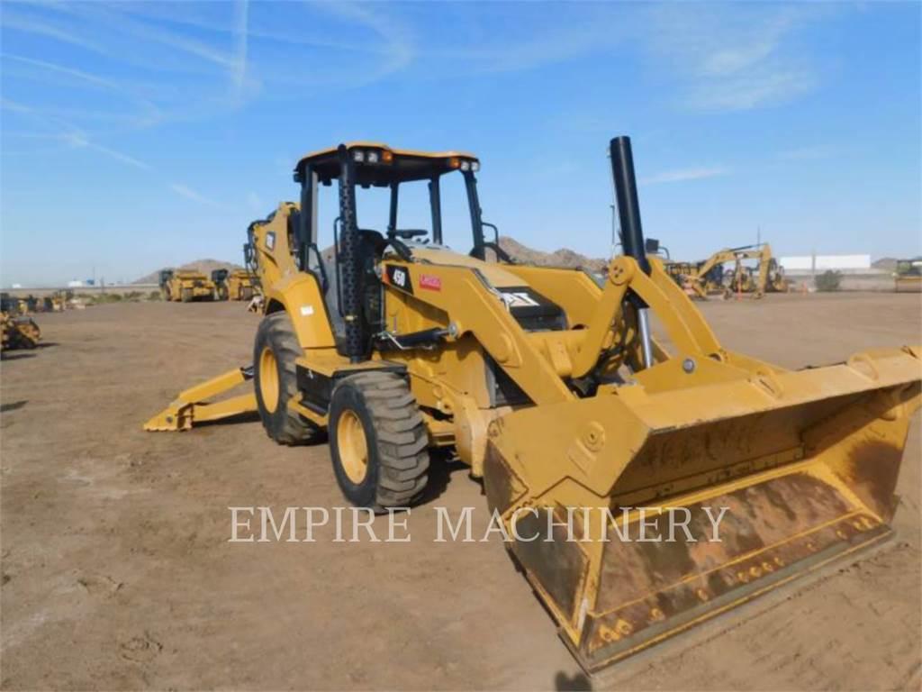 Caterpillar 450-074EOP, backhoe loader, Construction