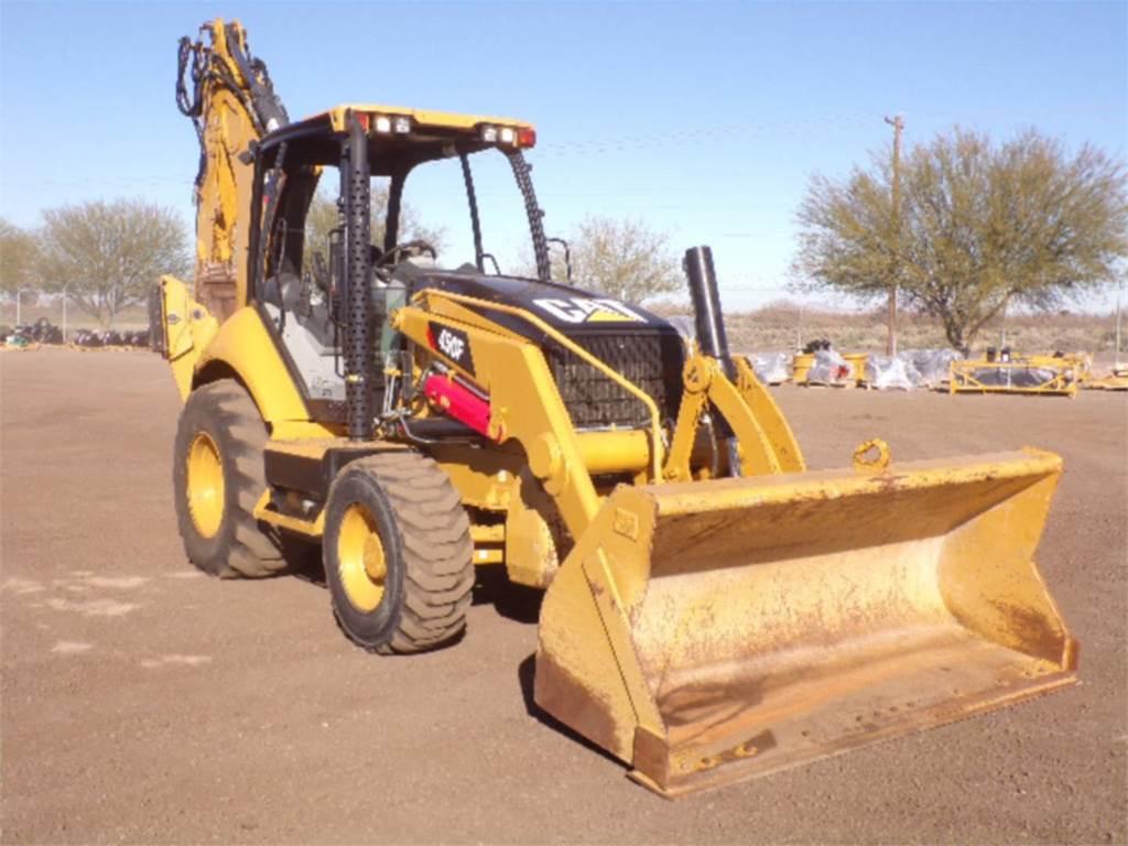 Caterpillar 450 F, baggerlader, Bau-Und Bergbauausrüstung