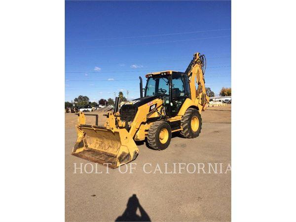 Caterpillar 450F、バックホーローダ、建設