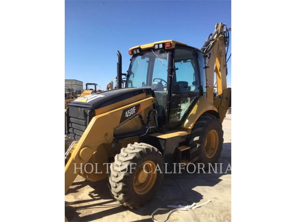 Caterpillar 450F, buldoexcavatoare, Constructii