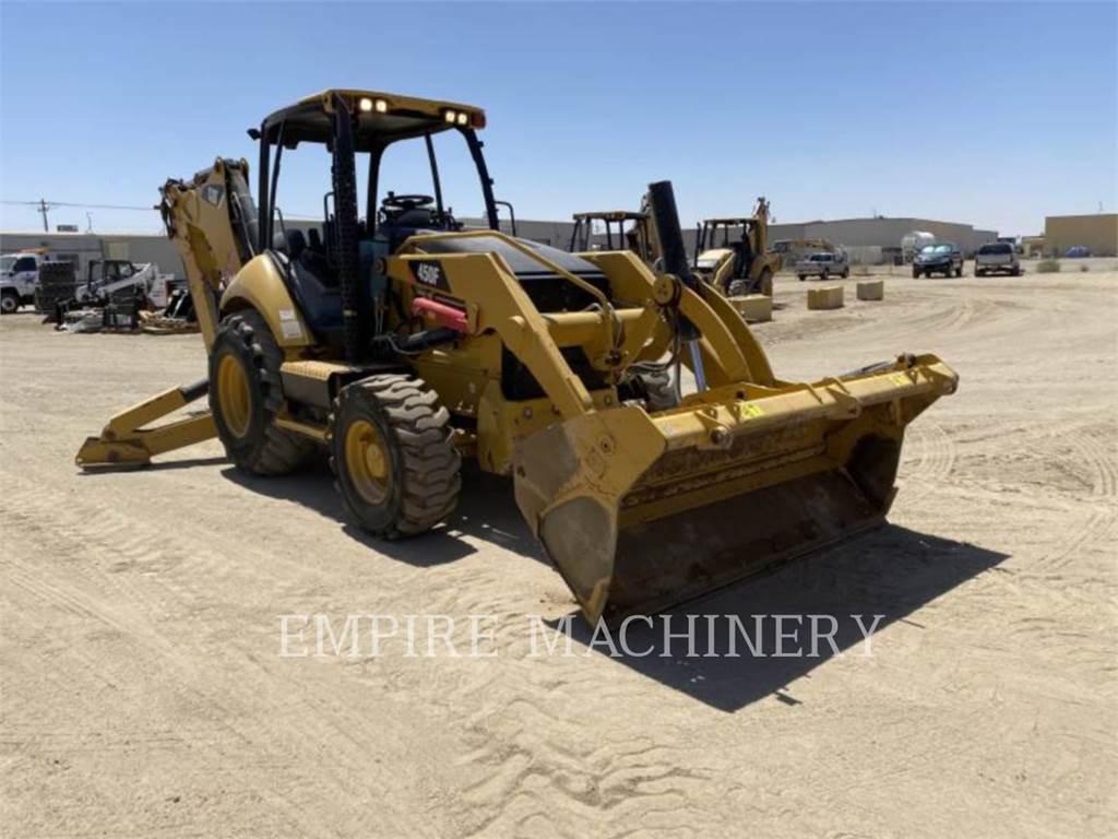 Caterpillar 450F 4EOM, backhoe loader, Construction