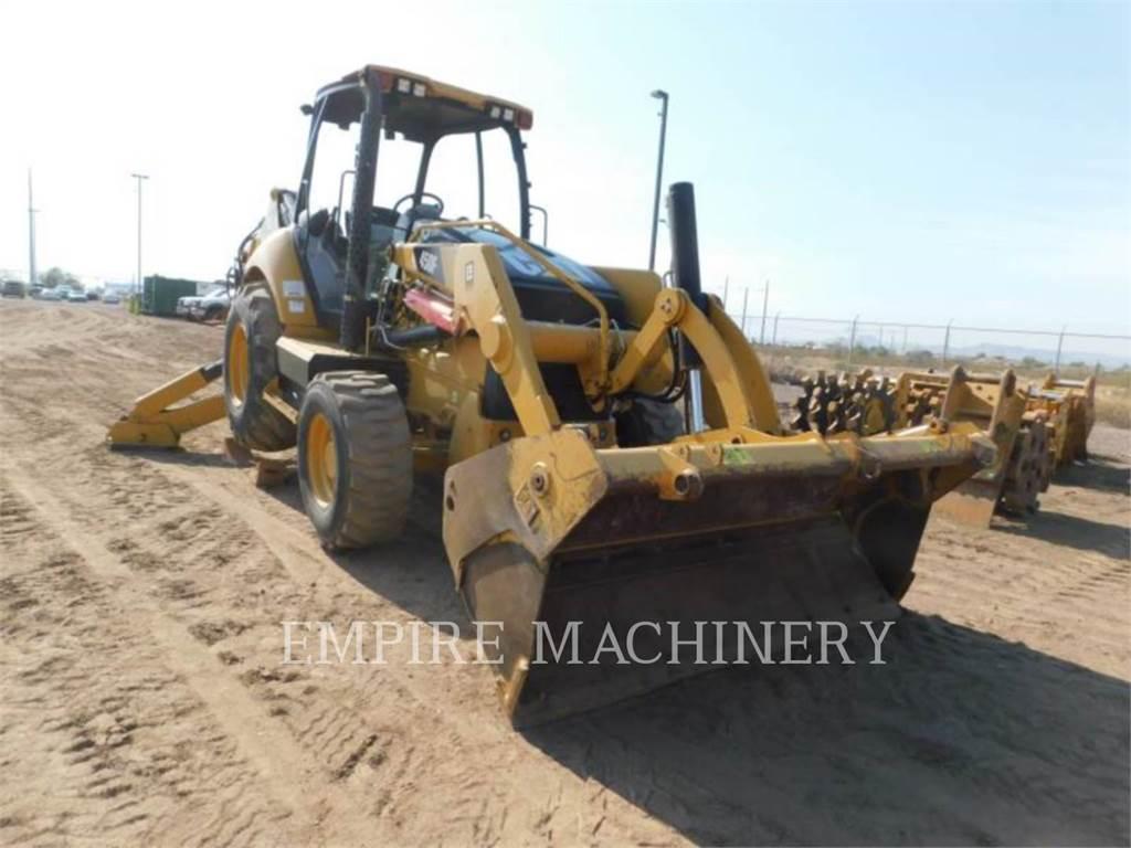 Caterpillar 450F 4EOMP, backhoe loader, Construction