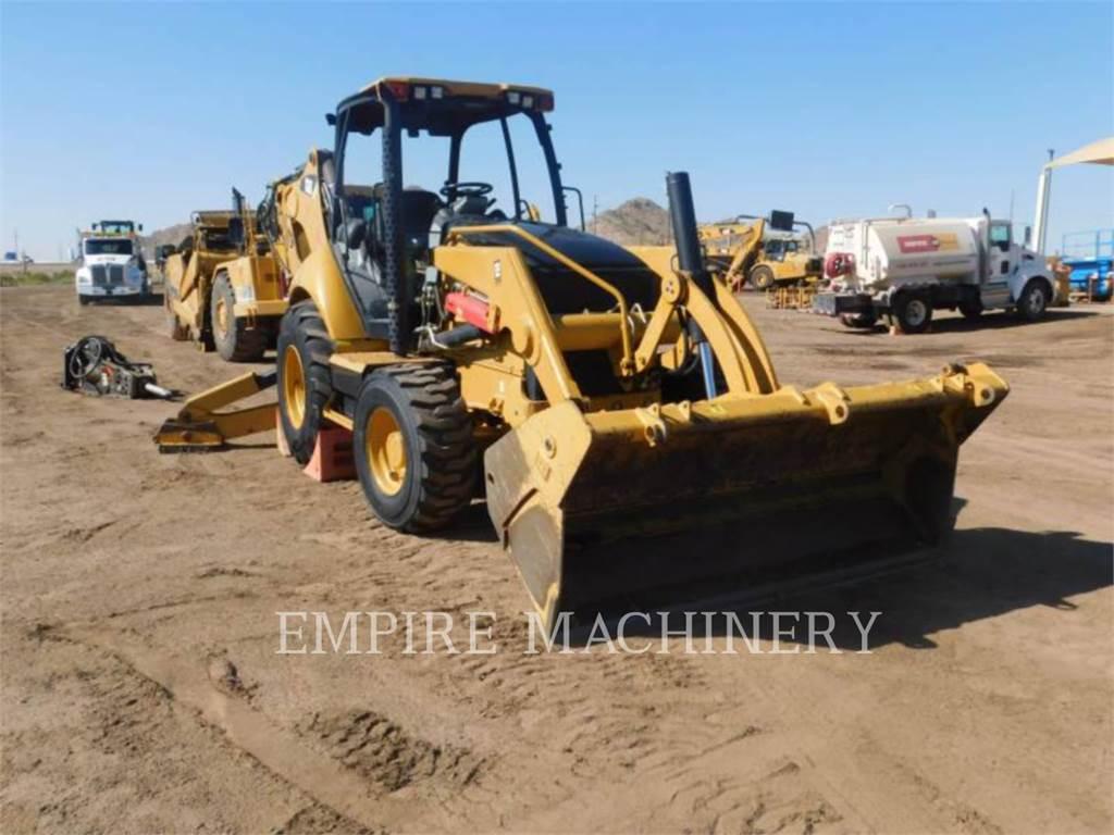 Caterpillar 450F 4EOMP, retroexcavadoras cargadoras, Construcción