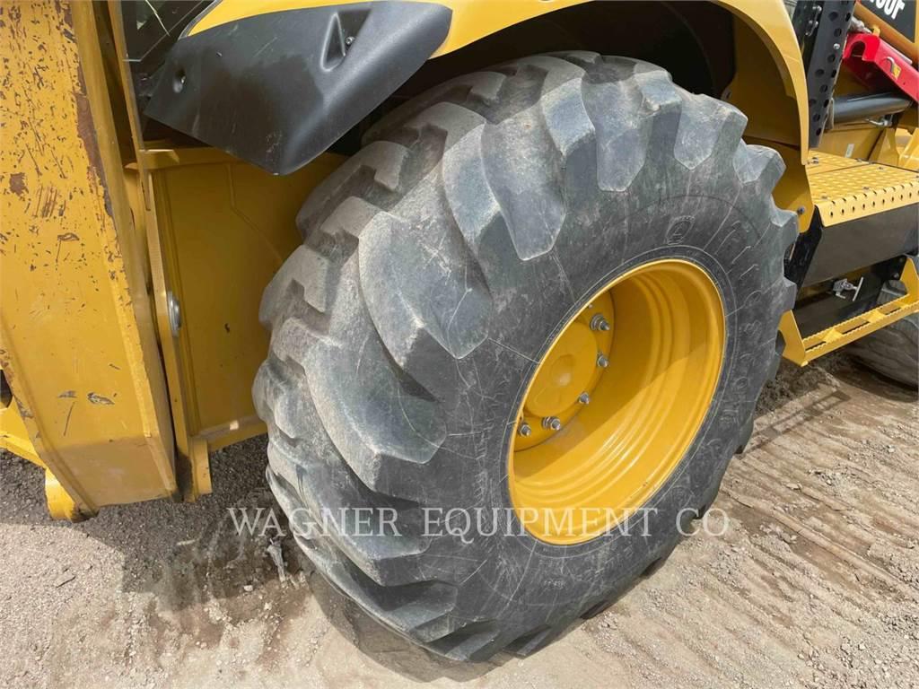 Caterpillar 450F 4WD, backhoe loader, Construction