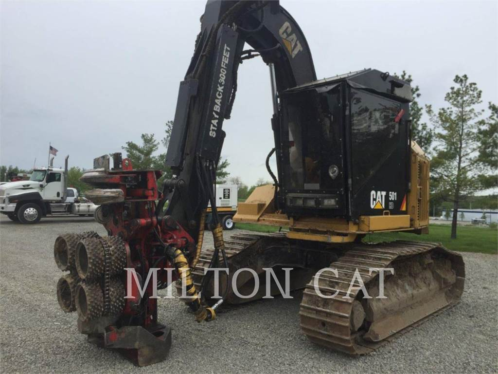 Caterpillar 501 HD, Abatteuse, Forestier