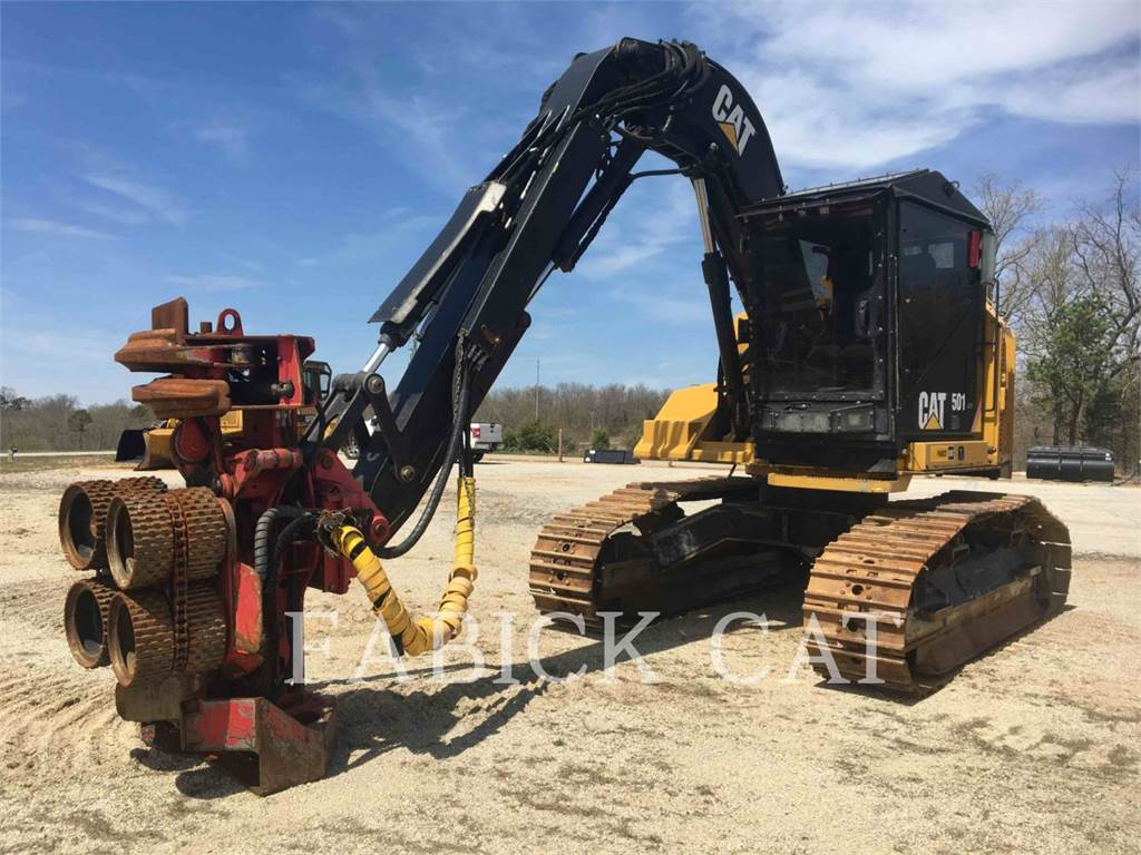Caterpillar 501 HD, Harvesters, Forestry Equipment