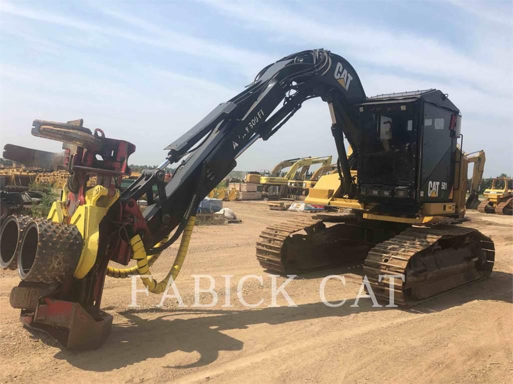 Caterpillar 501 HD、筑床机、林业机械