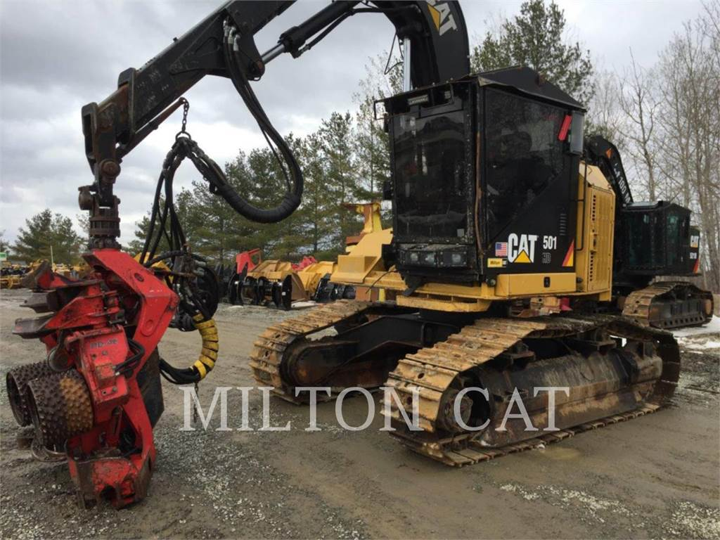 Caterpillar 501 HD DH, Abatteuse, Forestier