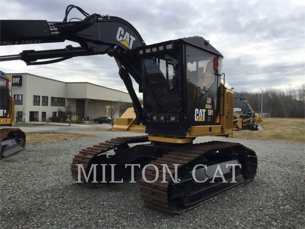 Caterpillar 501HD, Harvesters, Forestry Equipment