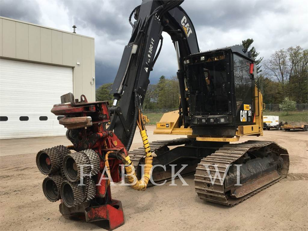 Caterpillar 501HD, Harvesters, Forestry Equipment