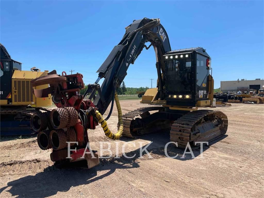 Caterpillar 501HD、筑床机、林业机械