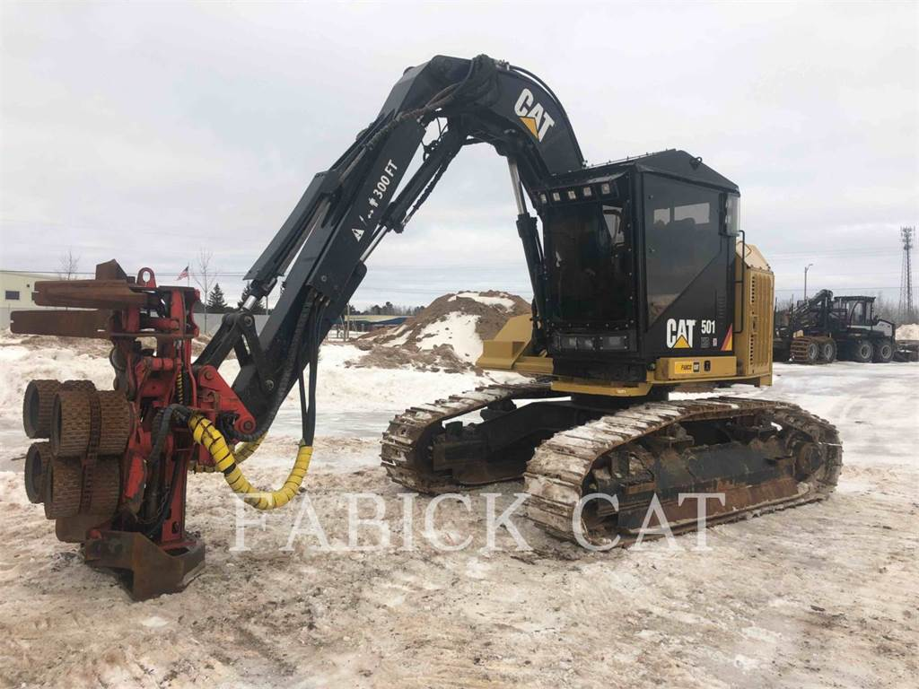Caterpillar 501HD, Knuckleboom loaders, Forestry Equipment