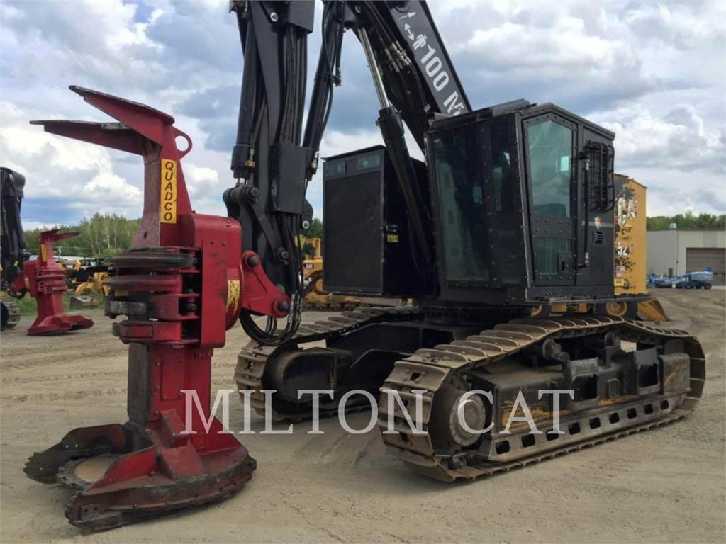 Caterpillar 521B、フェラーバンチャー、林業機械