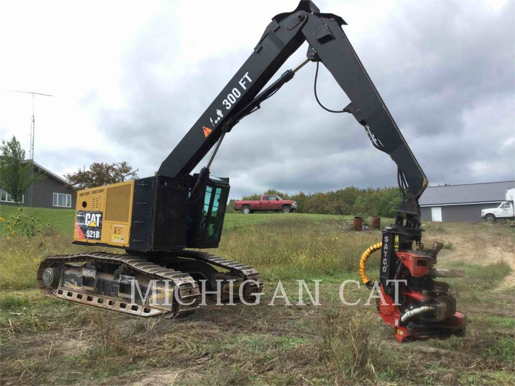 Caterpillar 521B, Feller Bunchers, Forestry Equipment
