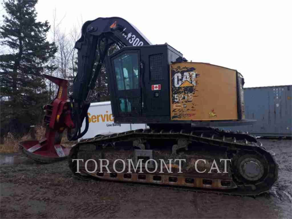 Caterpillar 521B, Chargeuse forestière, Forestier