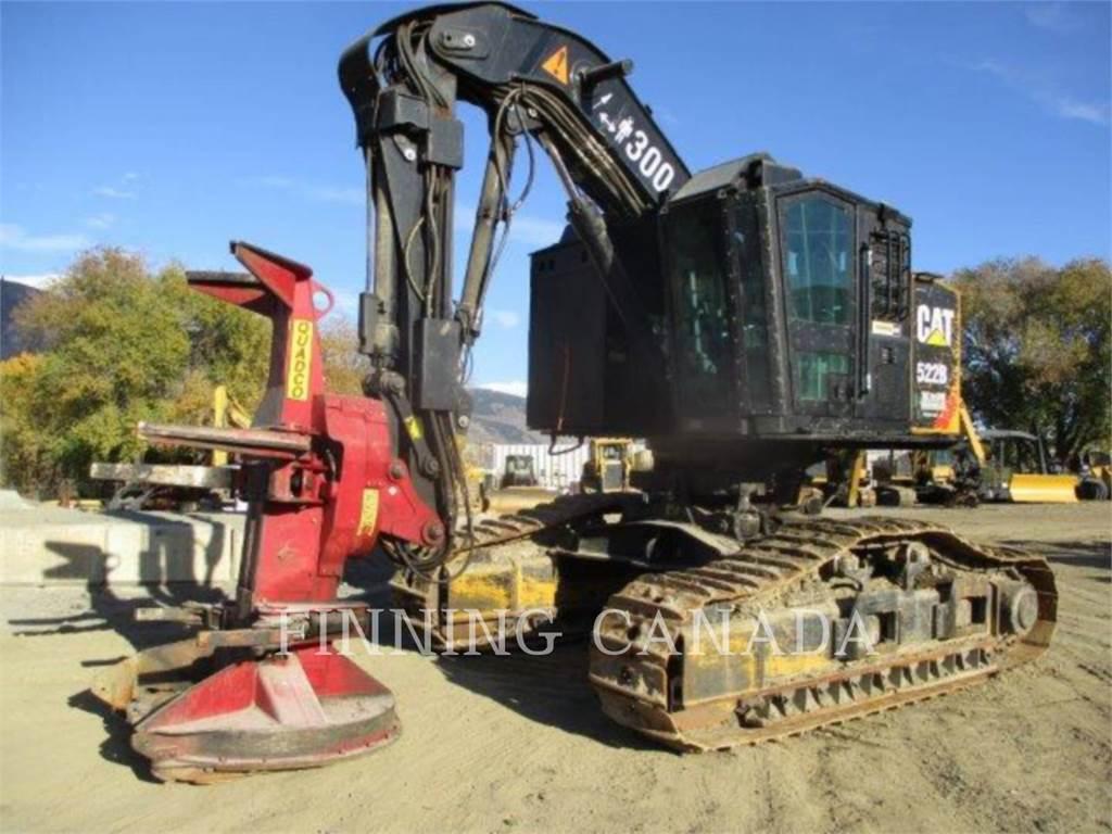 Caterpillar 553C - Feller Bunchers - Forestry Equipment ...   Cat Forestry Equipment