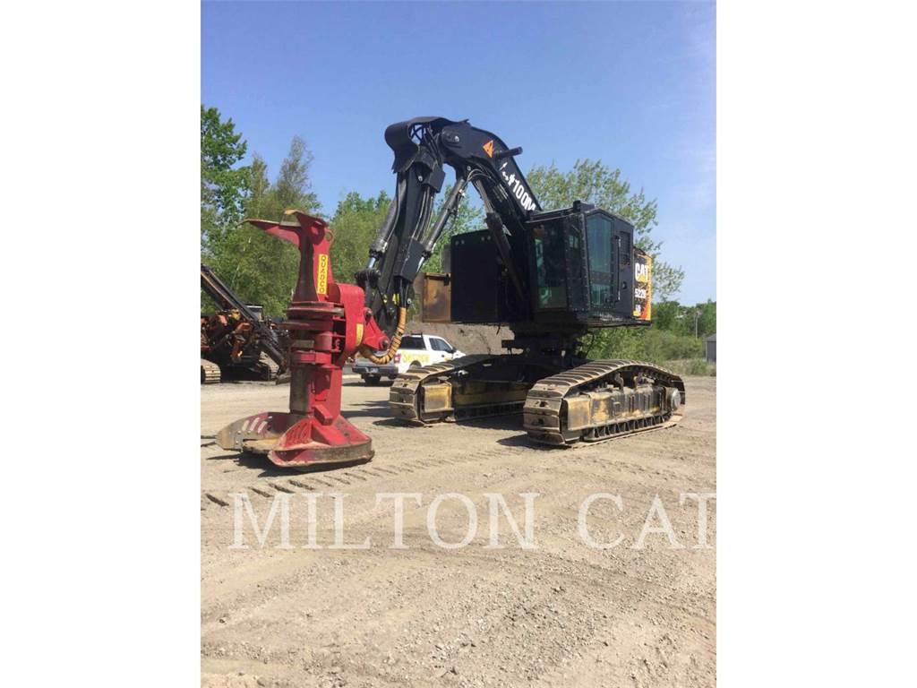 Caterpillar 522B, Feller Bunchers, Forestry Equipment