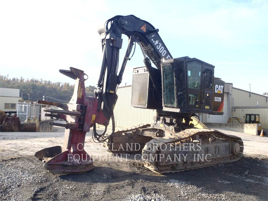 Caterpillar 522B, Feller Bunchers, Forestry Equipment