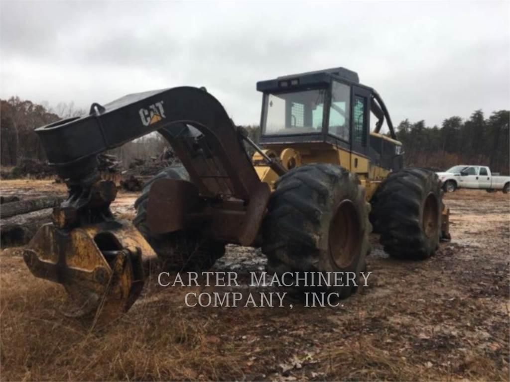 Caterpillar 525B、筑床机、林业机械