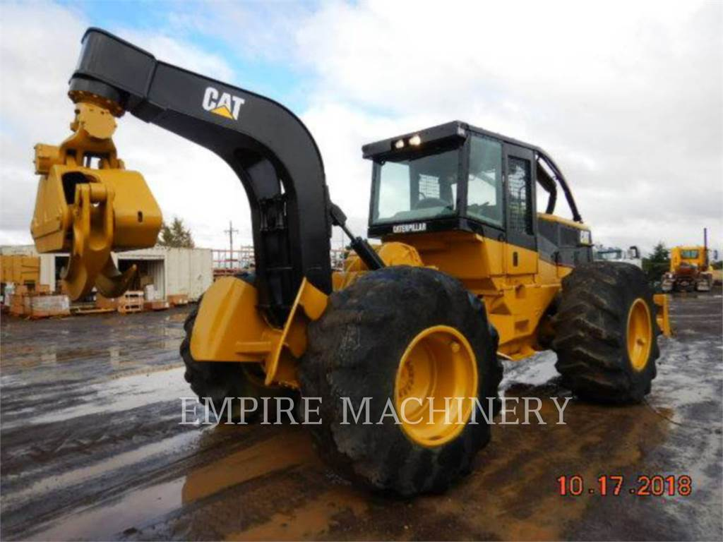 Caterpillar 525B, Wheel Loaders, Construction