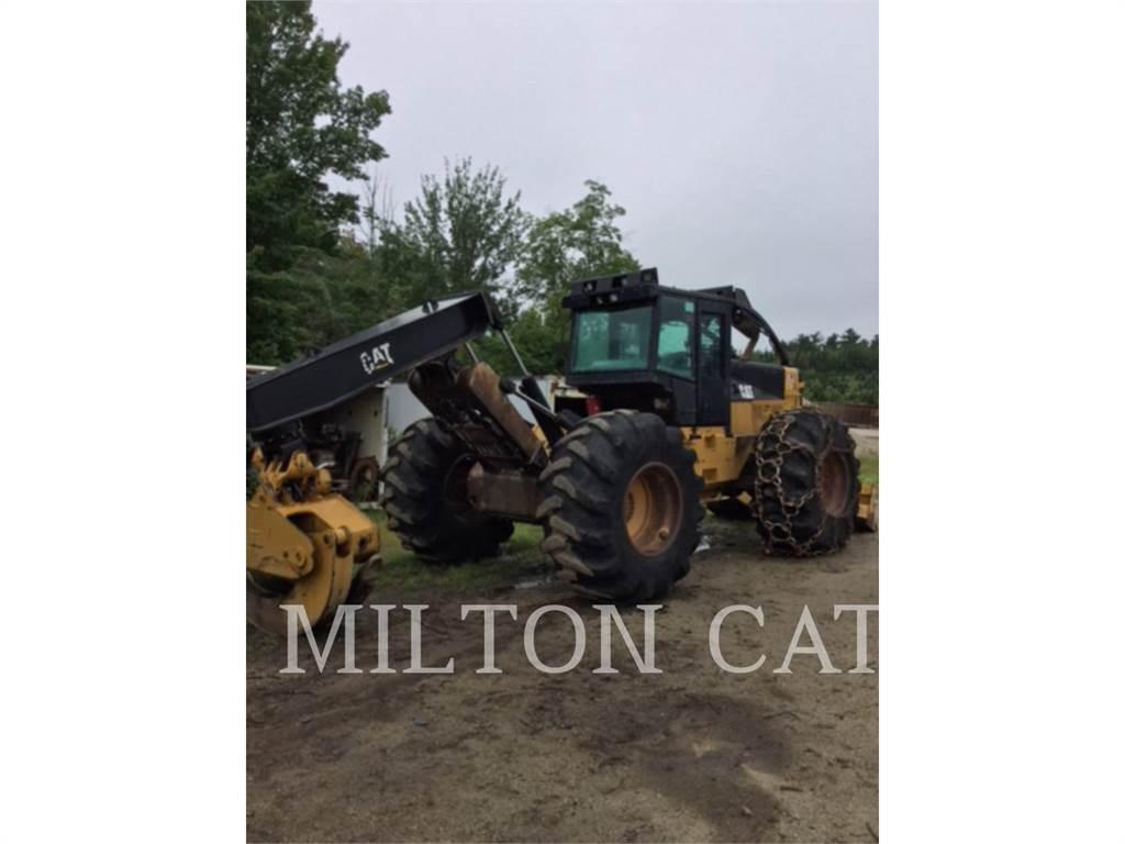 Caterpillar 525C, forstwirtschaft - holzrücker, Forstmaschinen