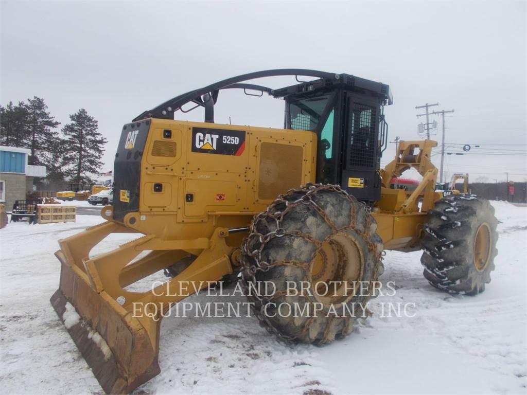 Caterpillar 525D, Knuckleboom loaders, Forestry Equipment