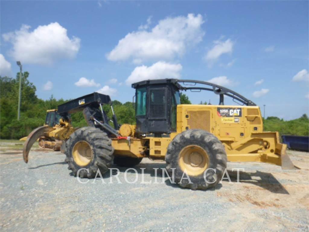 Caterpillar 525D, leśnictwo - skidery, Maszyny leśne