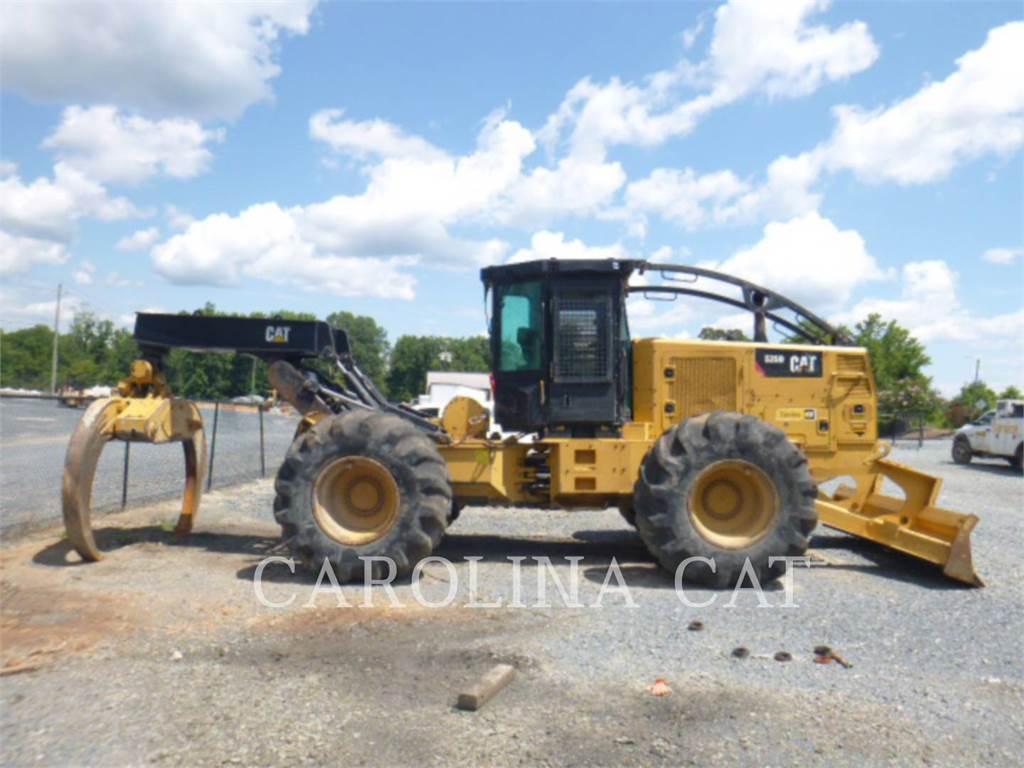 Caterpillar 525D、林業 - スキッダ、林業機械