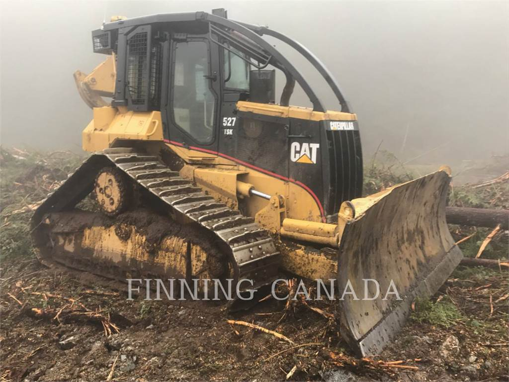 Caterpillar 527GR, skidder, Forestry Equipment